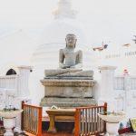 Concrete Buddha Statue in Galle, DMC Sri Lanka