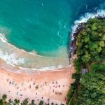 Aerial Photo of Sea, DMC Sri Lanka