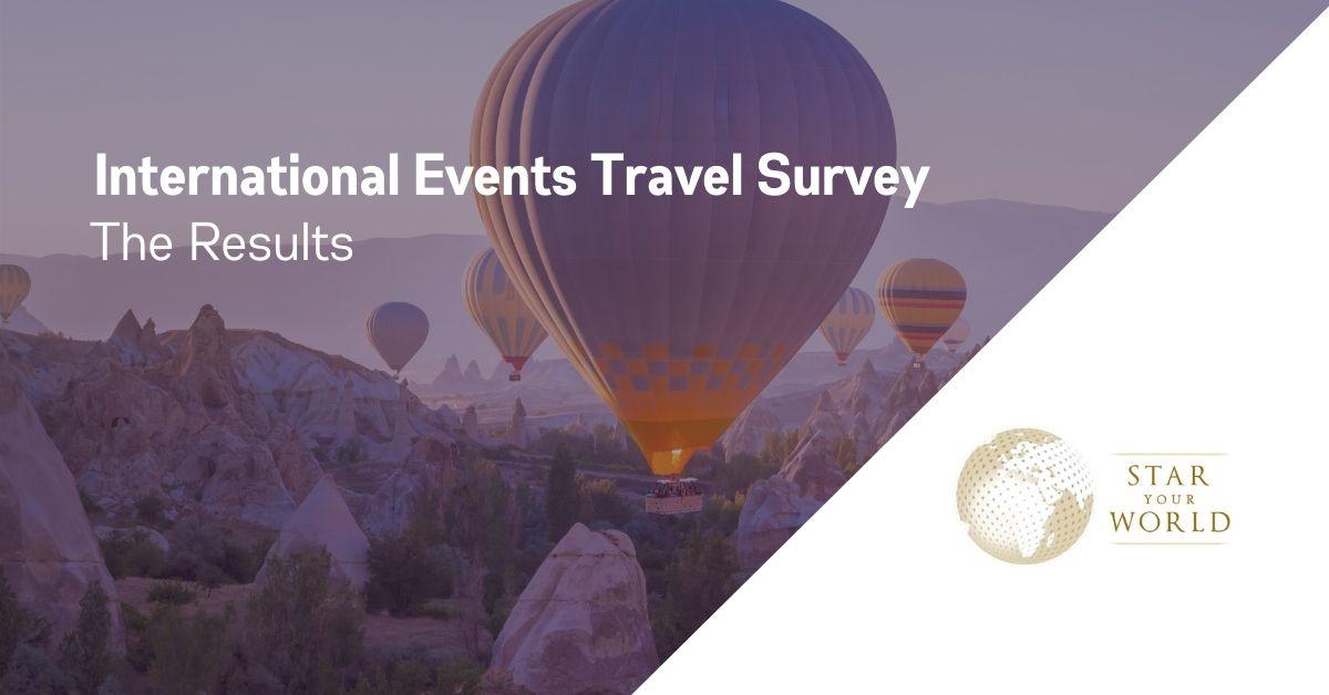 DMC International Events Travel Survey Results 2021