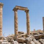 Roman runis in Jerash