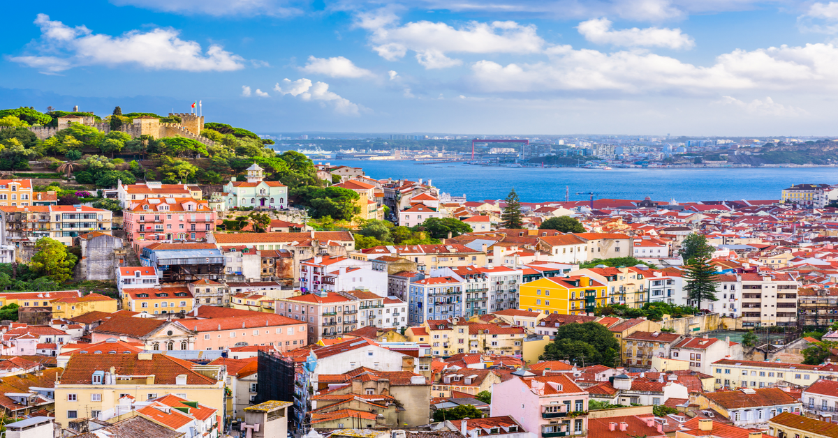 meetings and events in portual, a view over the Portugal skyline