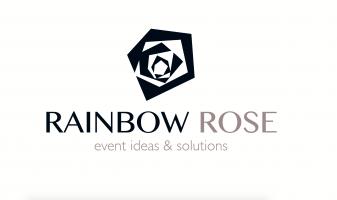 logo rainbow rose